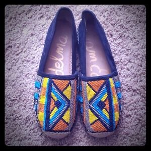 Sam Edelman  Colorful Beaded Espadrille